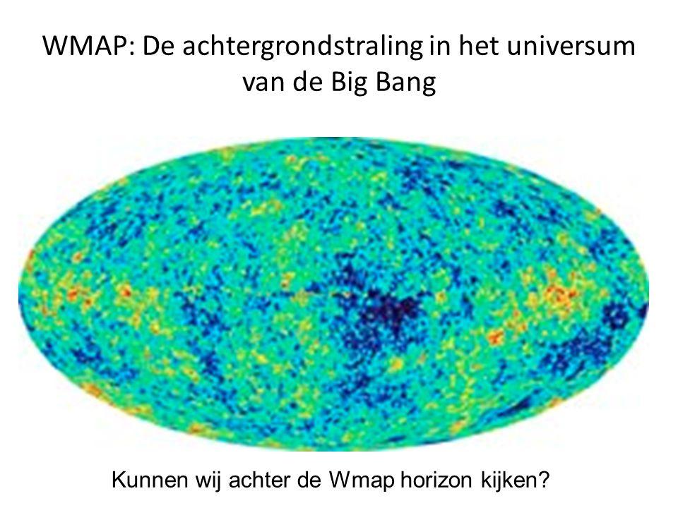 WMAP: De achtergrondstraling in het universum van de Big Bang