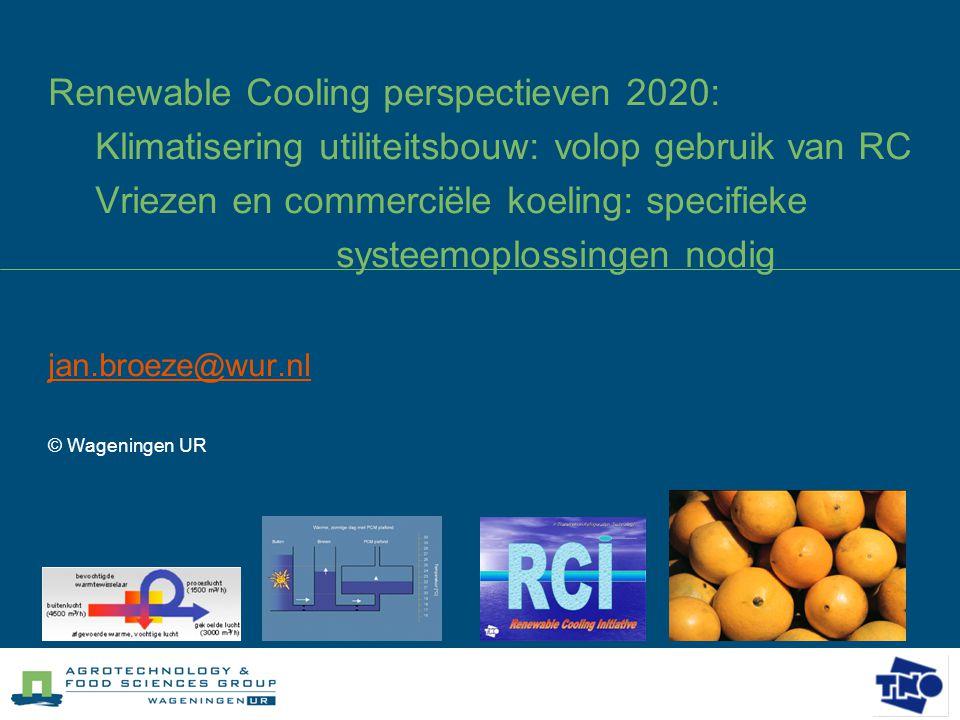 jan.broeze@wur.nl © Wageningen UR