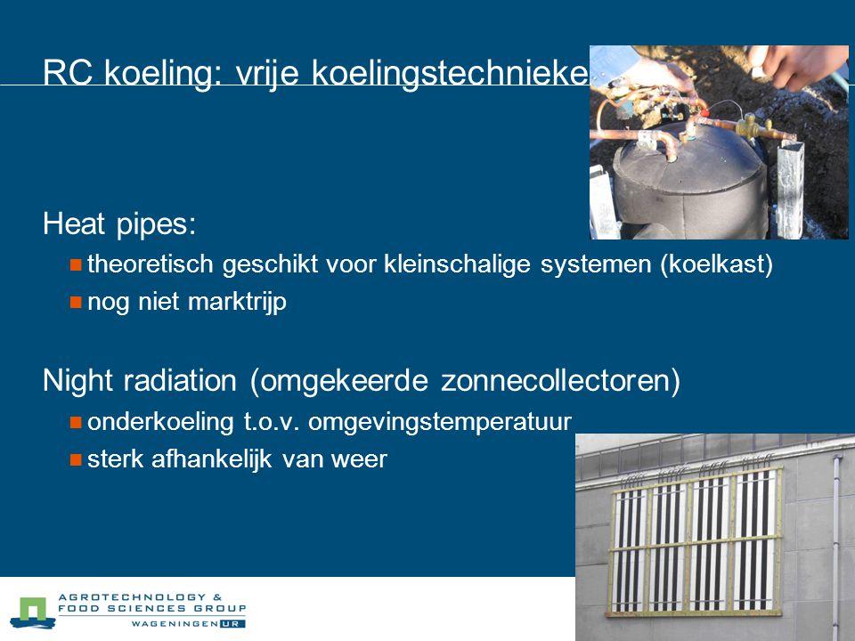 RC koeling: vrije koelingstechnieken