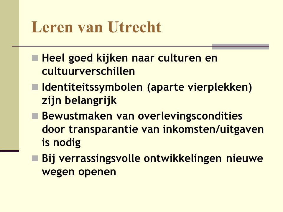 Leren van Utrecht Heel goed kijken naar culturen en cultuurverschillen