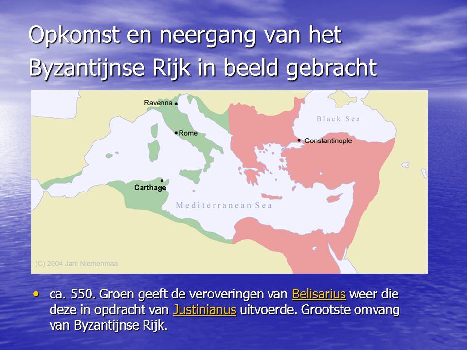 Opkomst en neergang van het Byzantijnse Rijk in beeld gebracht