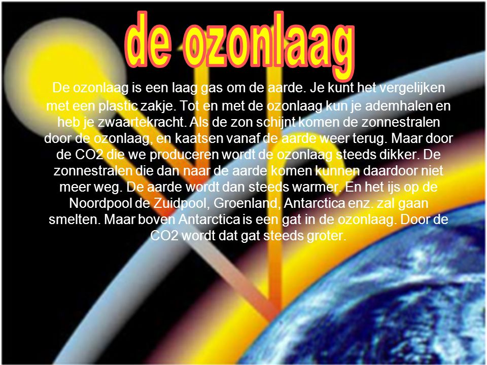 de ozonlaag