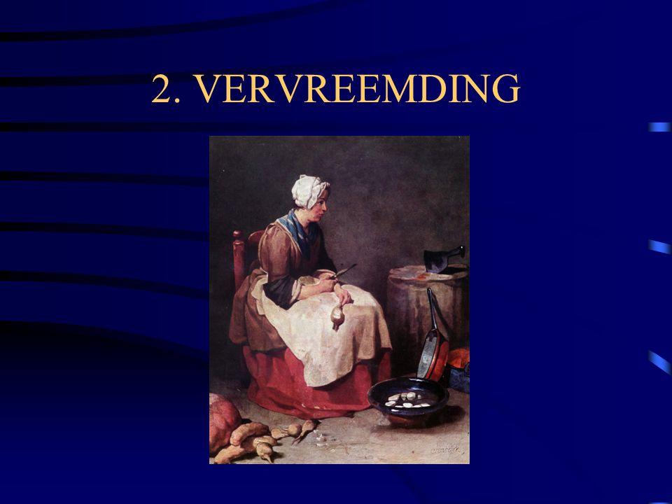 2. VERVREEMDING