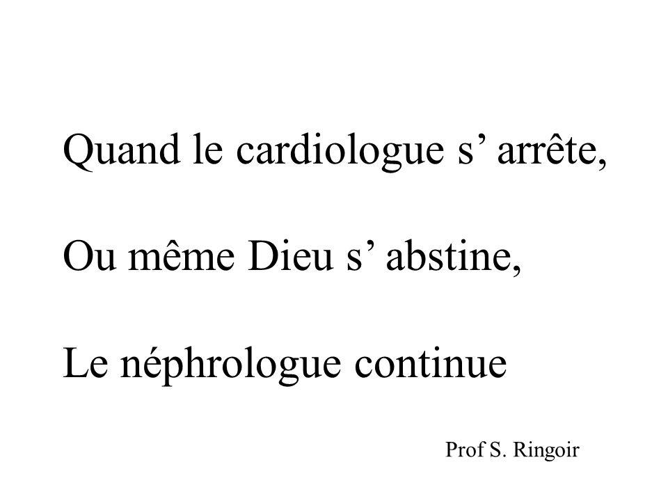 Quand le cardiologue s' arrête, Ou même Dieu s' abstine,
