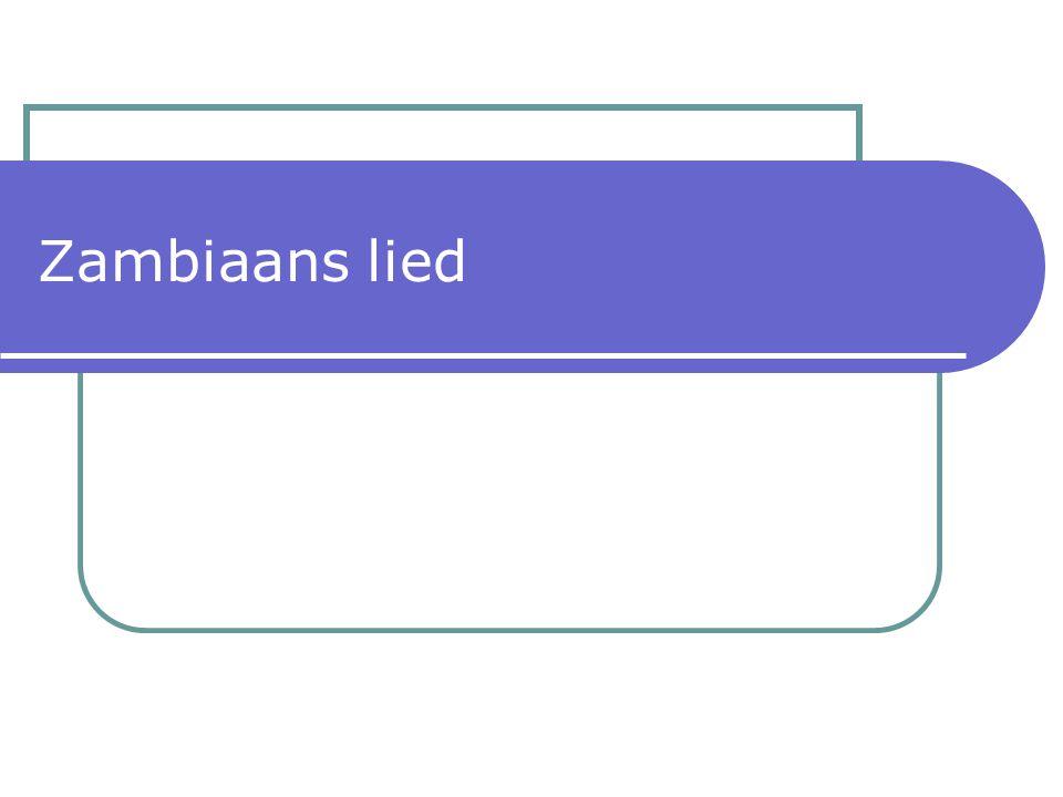 Zambiaans lied