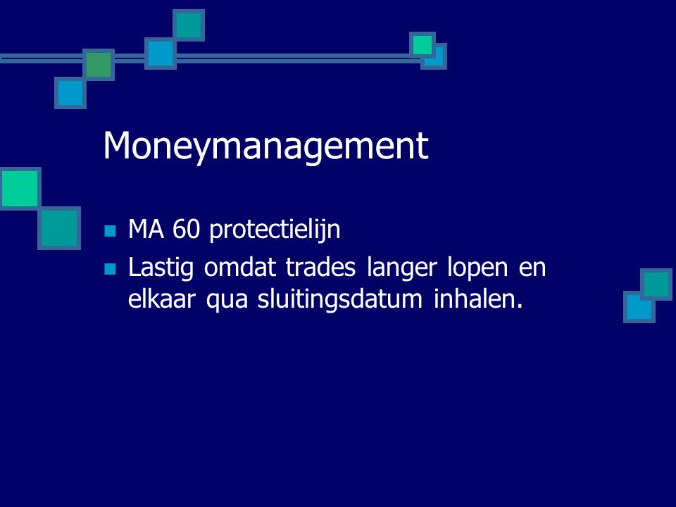 Moneymanagement MA 60 protectielijn