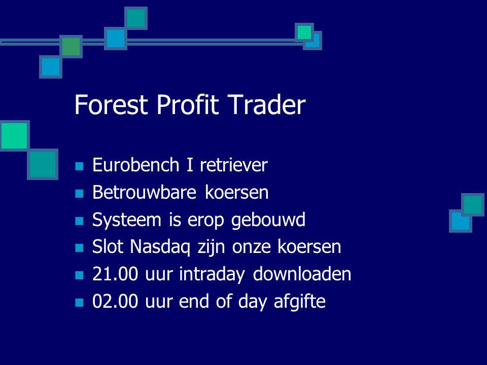 Forest Profit Trader Eurobench I retriever Betrouwbare koersen