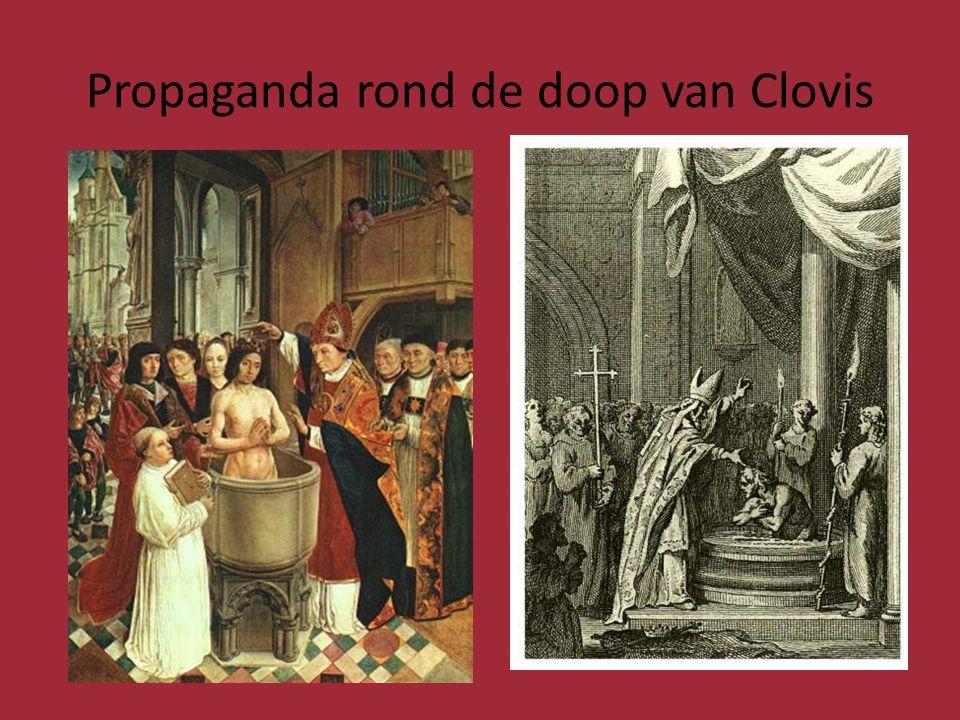 P Propaganda rond de doop van Clovis