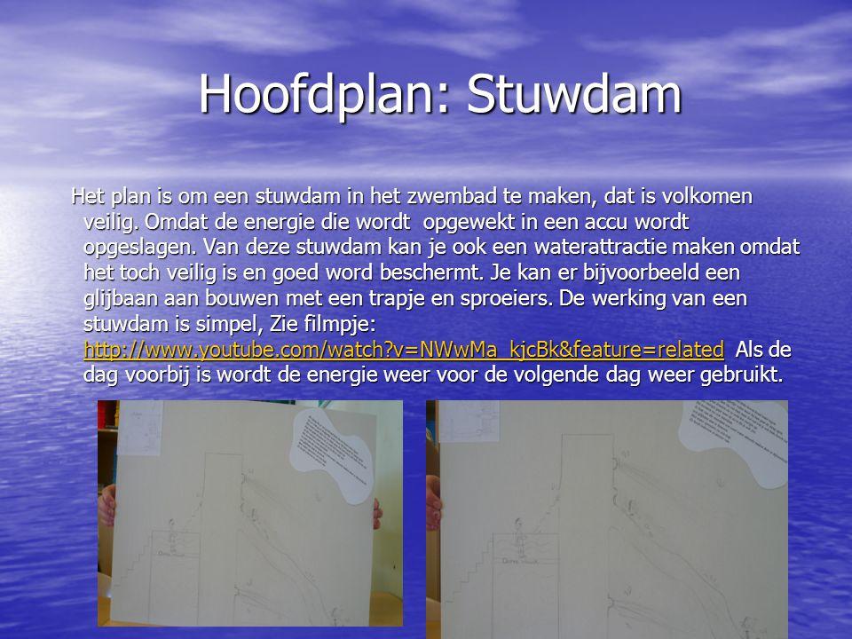Hoofdplan: Stuwdam