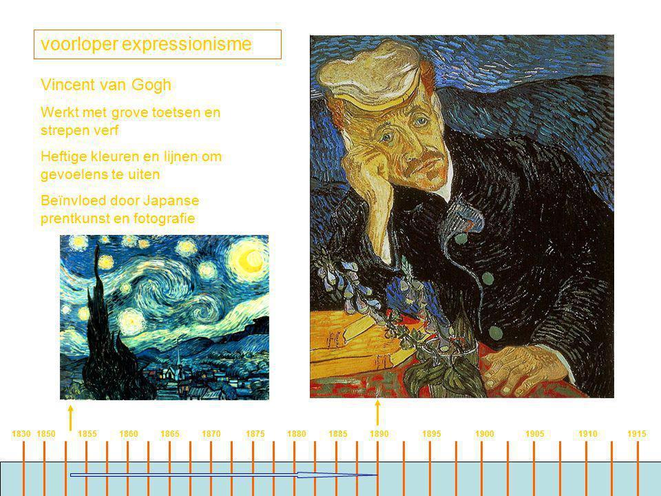 voorloper expressionisme