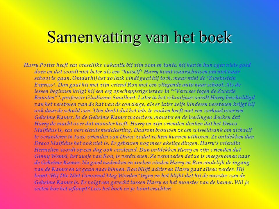 Samenvatting van het boek