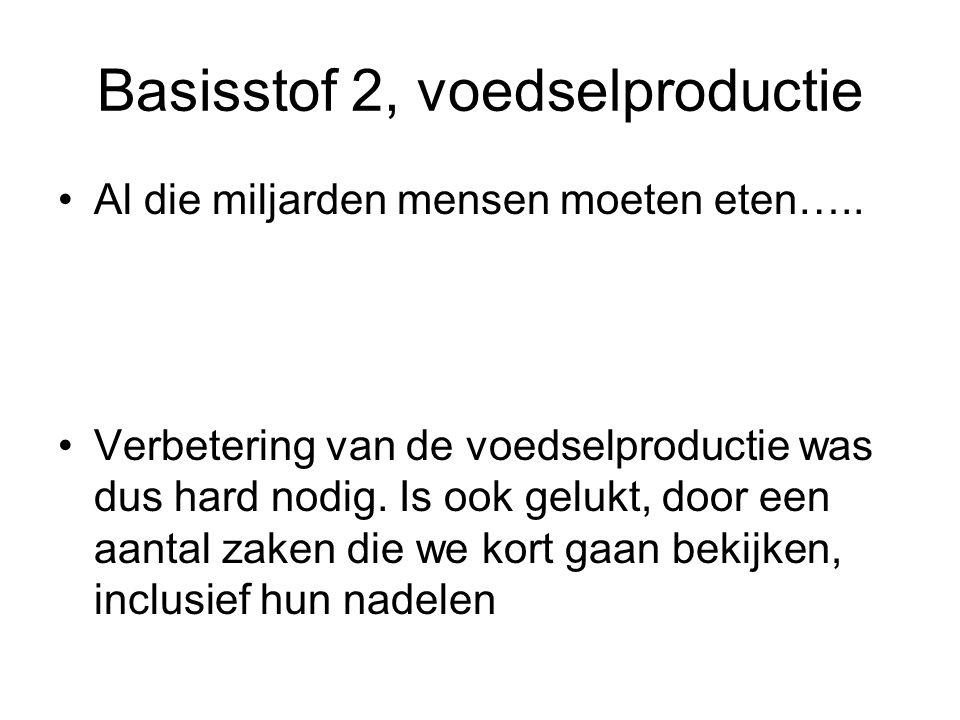 Basisstof 2, voedselproductie
