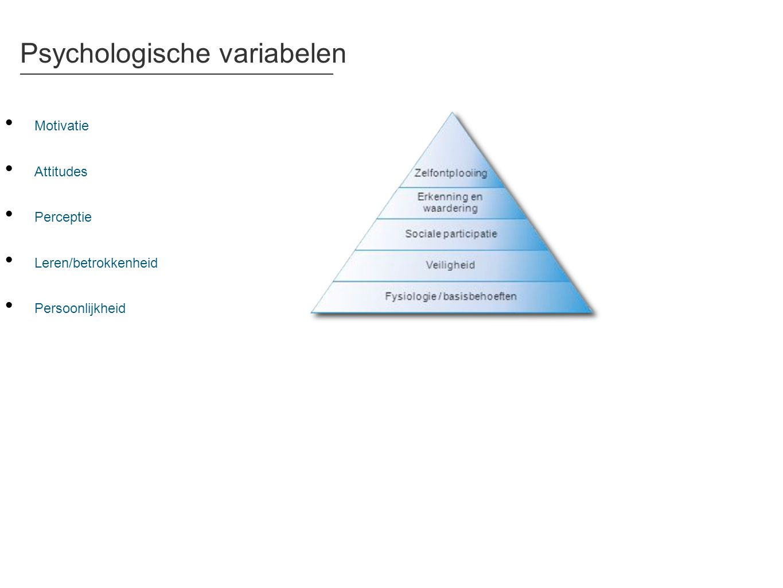 Psychologische variabelen