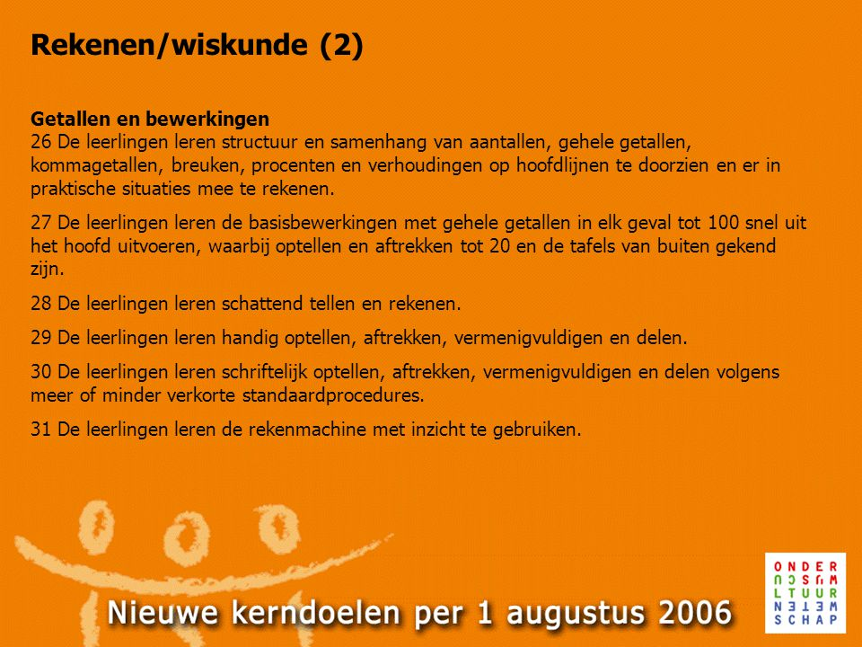 Rekenen/wiskunde (2)