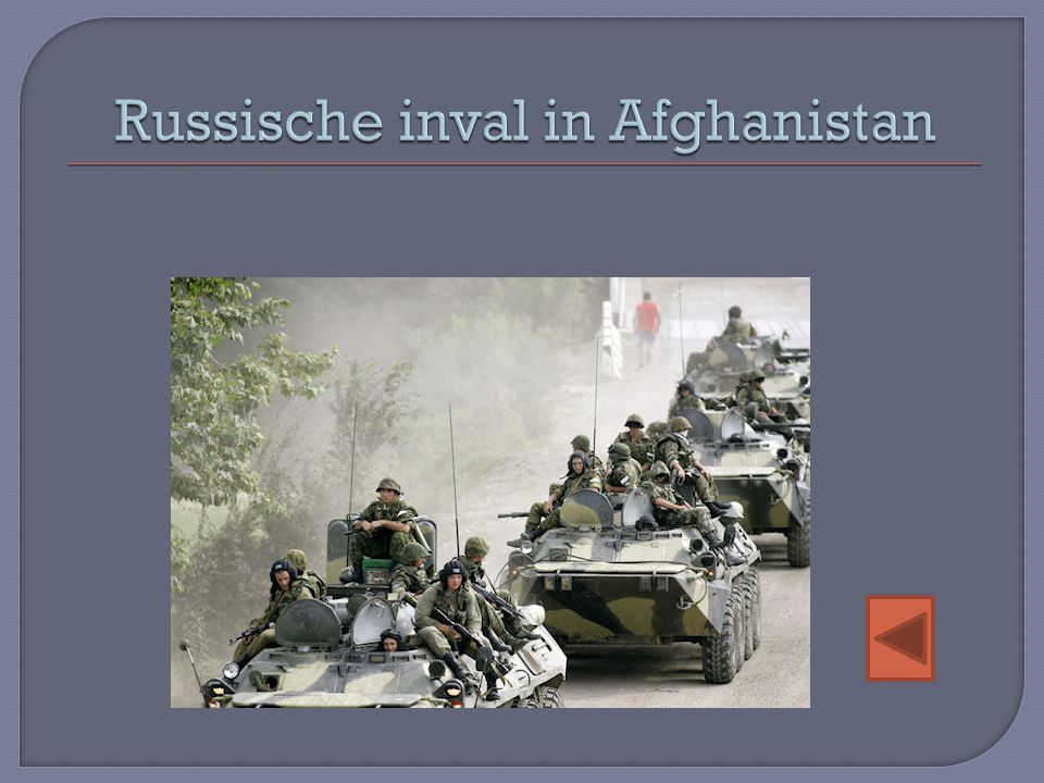 Russische inval in Afghanistan
