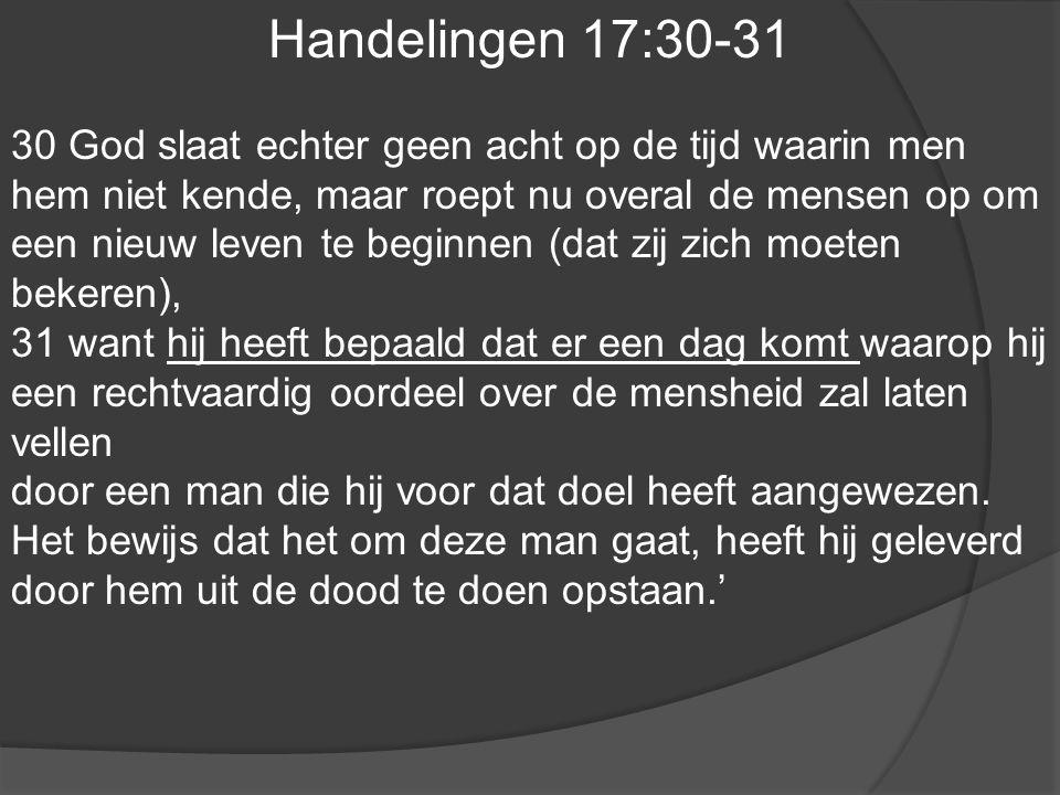 Handelingen 17:30-31
