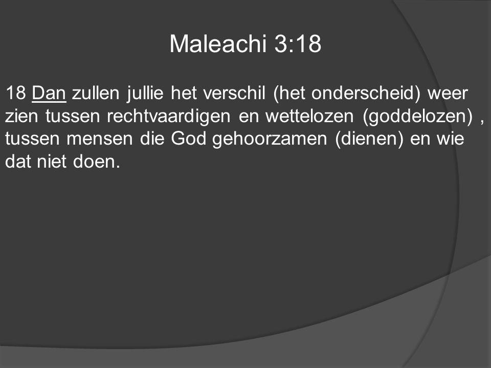 Maleachi 3:18