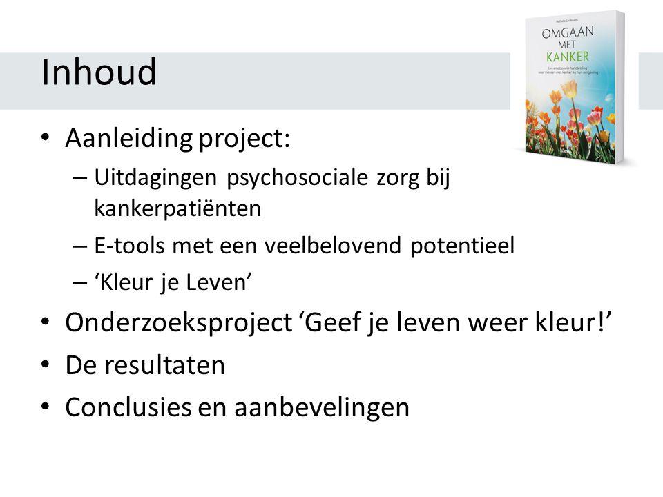 Inhoud Aanleiding project: