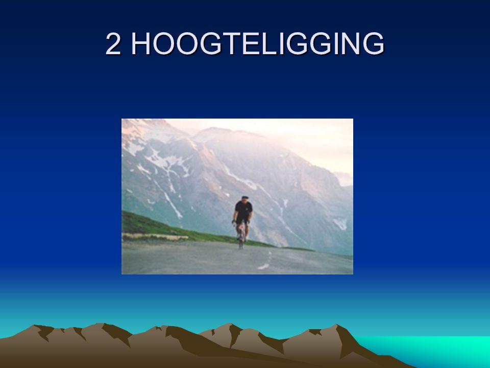 2 HOOGTELIGGING