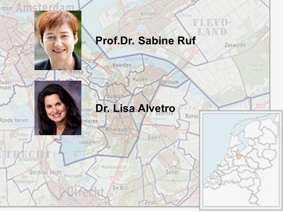 Prof.Dr. Sabine Ruf Dr. Lisa Alvetro
