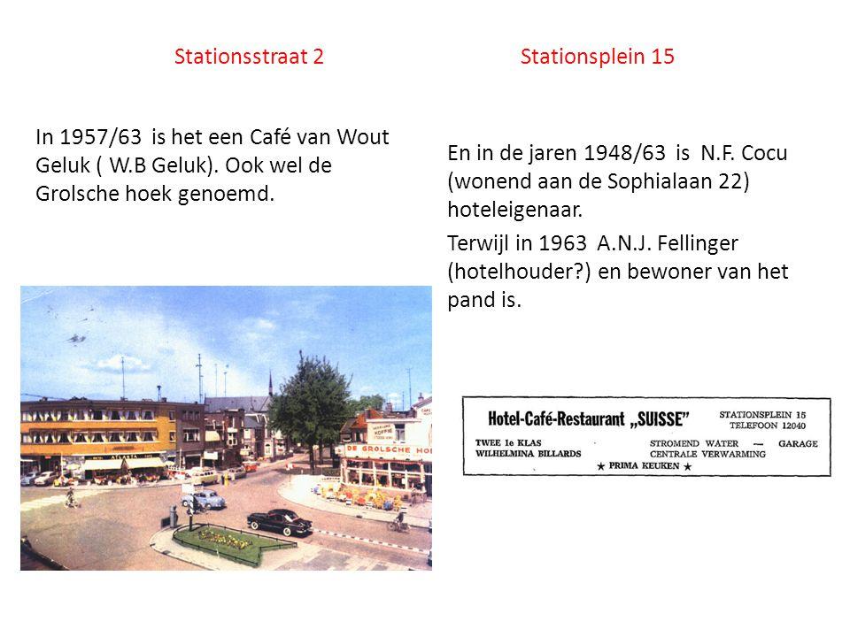 Stationsstraat 2 Stationsplein 15