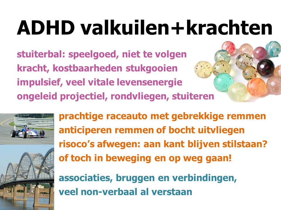 ADHD valkuilen+krachten