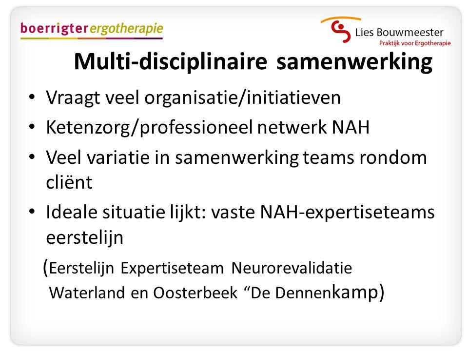Multi-disciplinaire samenwerking