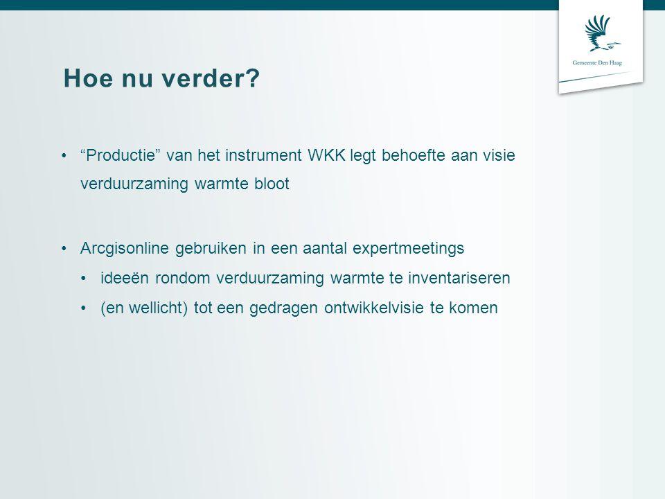 Hoe nu verder Productie van het instrument WKK legt behoefte aan visie verduurzaming warmte bloot.