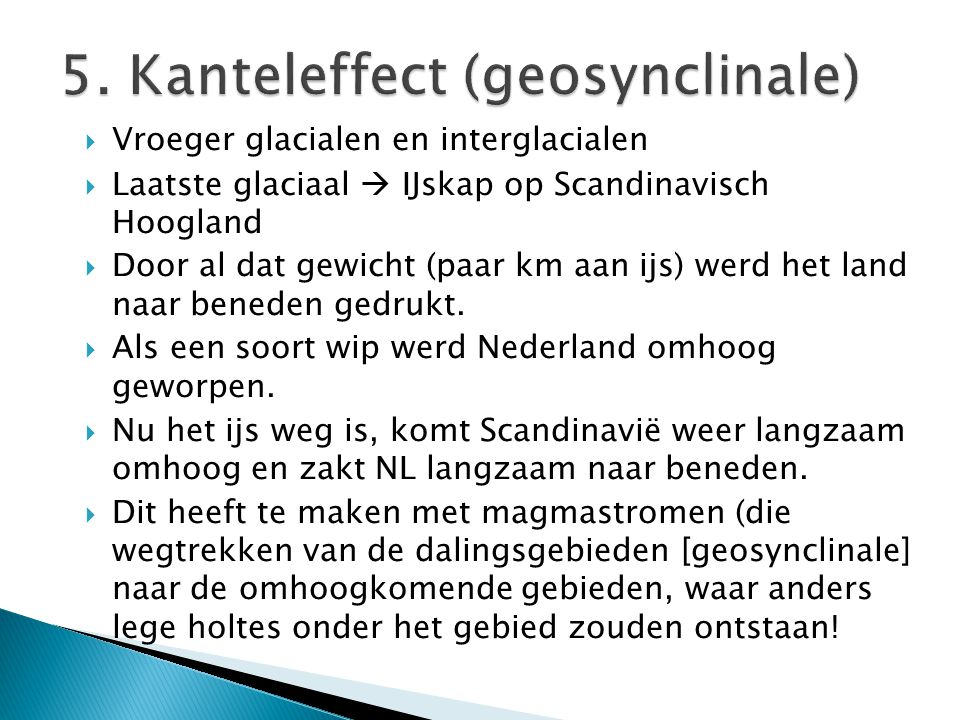 5. Kanteleffect (geosynclinale)