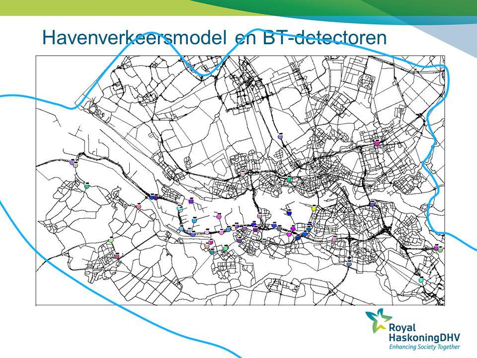 Havenverkeersmodel en BT-detectoren
