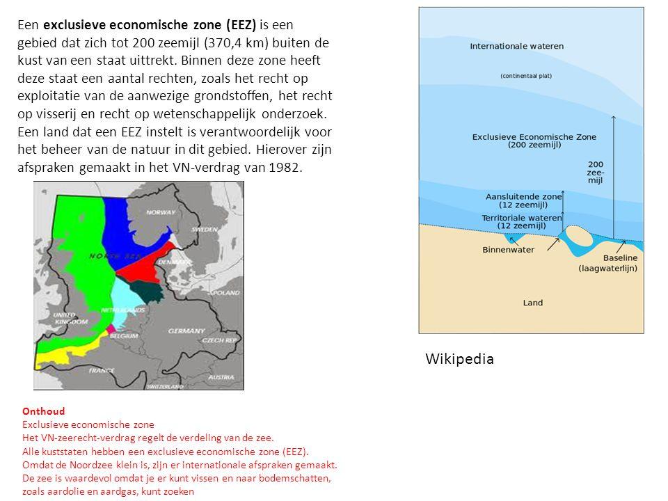 Een exclusieve economische zone (EEZ) is een gebied dat zich tot 200 zeemijl (370,4 km) buiten de kust van een staat uittrekt. Binnen deze zone heeft deze staat een aantal rechten, zoals het recht op exploitatie van de aanwezige grondstoffen, het recht op visserij en recht op wetenschappelijk onderzoek. Een land dat een EEZ instelt is verantwoordelijk voor het beheer van de natuur in dit gebied. Hierover zijn afspraken gemaakt in het VN-verdrag van 1982.
