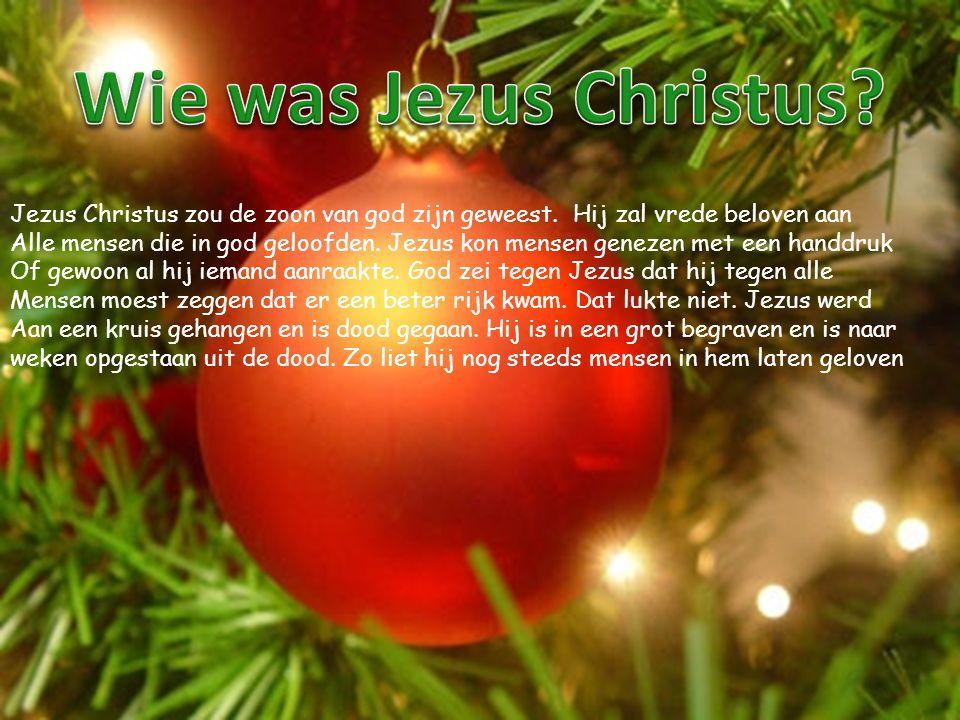 Wie was Jezus Christus Jezus Christus zou de zoon van god zijn geweest. Hij zal vrede beloven aan.