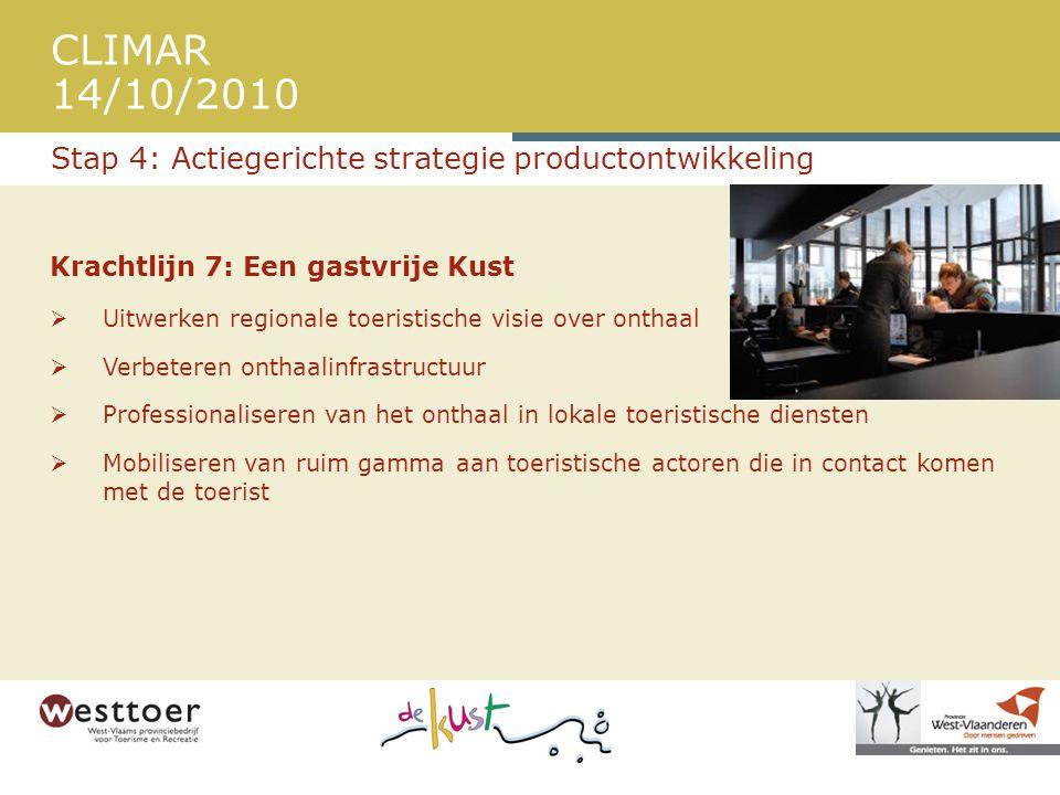 Stap 4: Actiegerichte strategie productontwikkeling