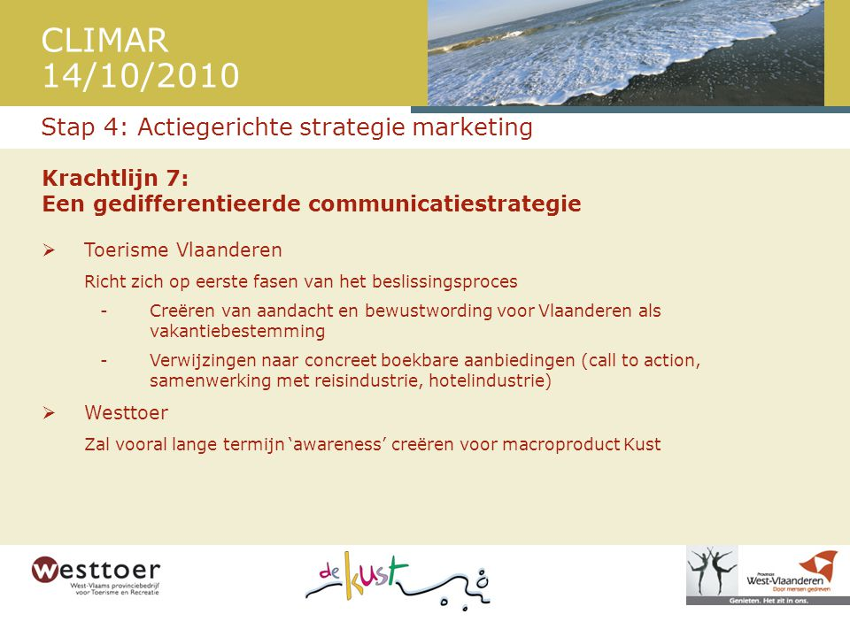Stap 4: Actiegerichte strategie marketing