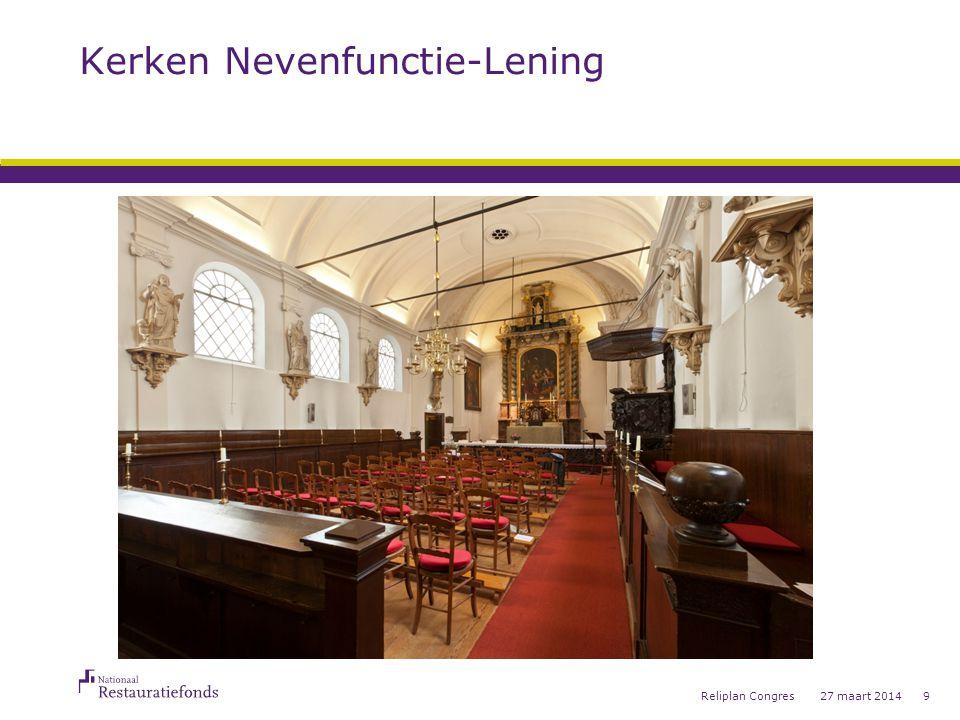 Kerken Nevenfunctie-Lening Uw kerk weer druk bezocht