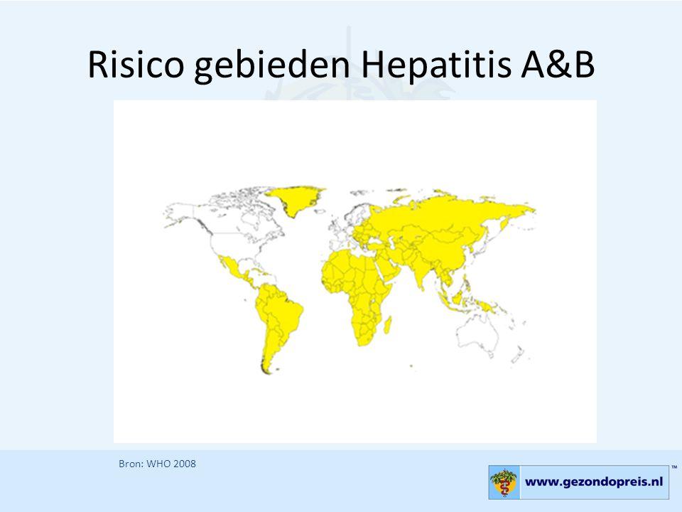 Risico gebieden Hepatitis A&B
