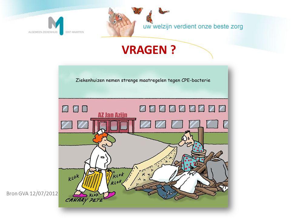 VRAGEN Bron GVA 12/07/2012