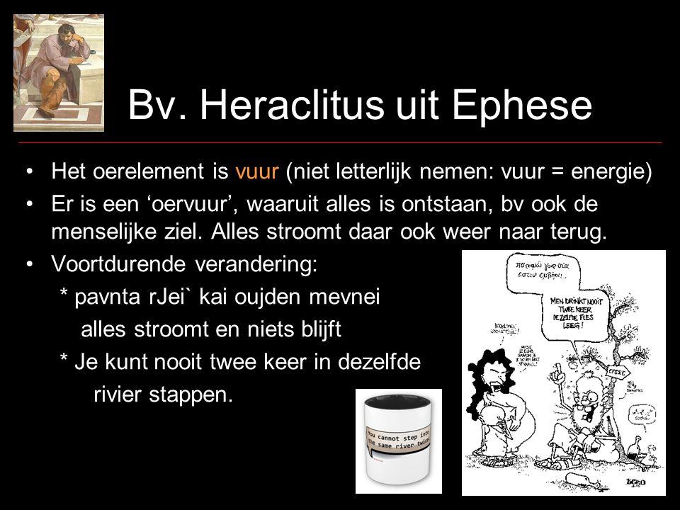 Bv. Heraclitus uit Ephese