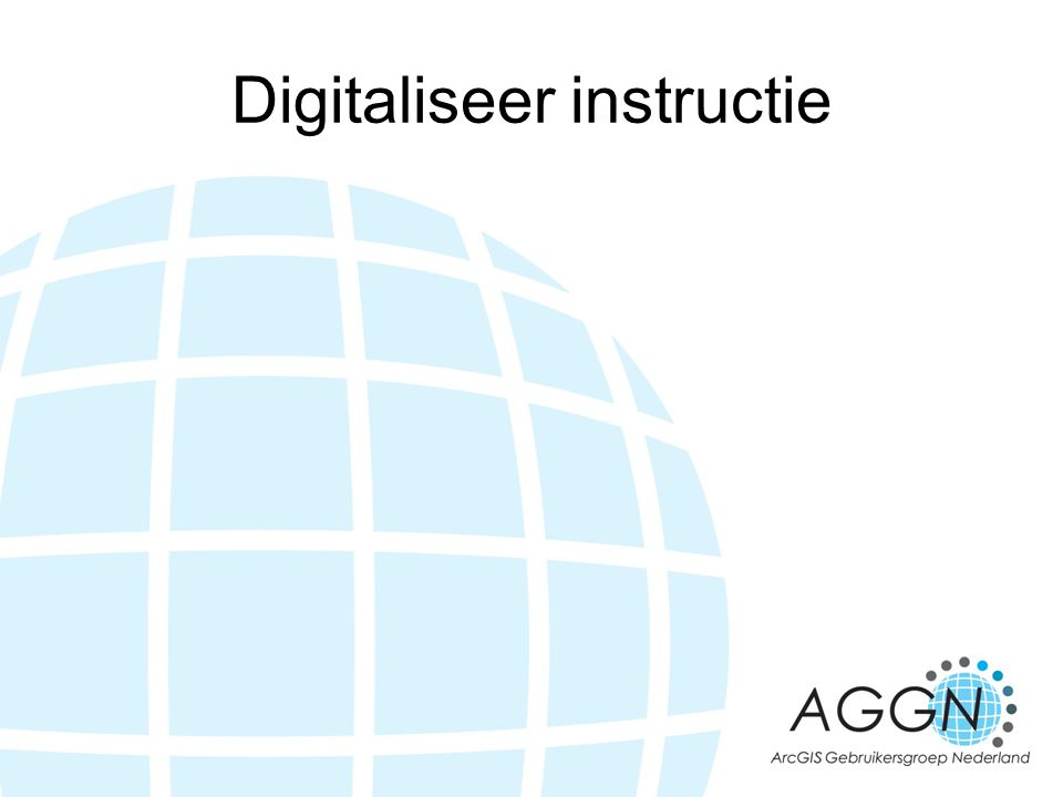 Digitaliseer instructie