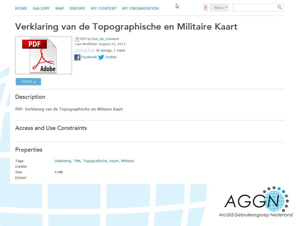 De legenda bij de TMK1850 is ook in de AGGN groep te vinden