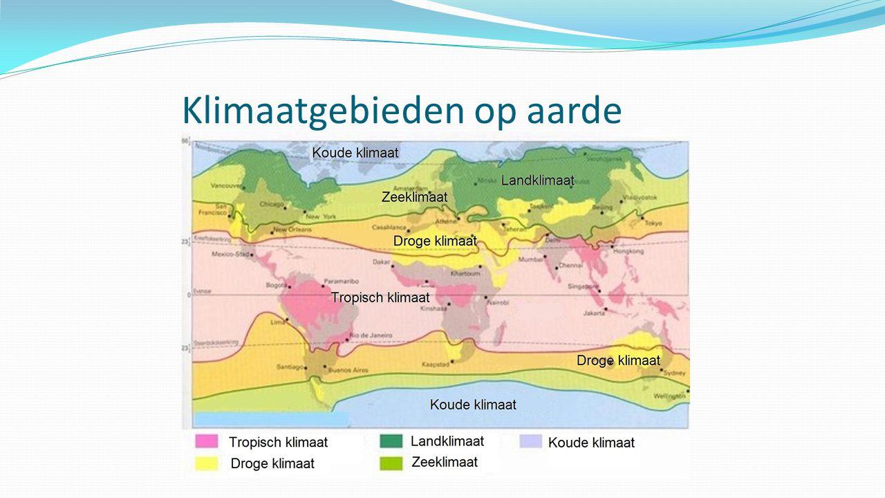 Klimaatgebieden op aarde