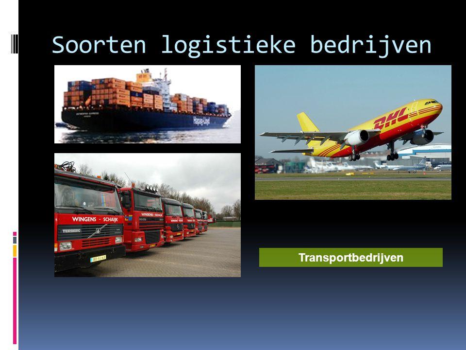 Soorten logistieke bedrijven
