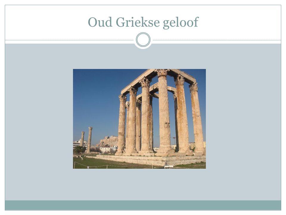 Oud Griekse geloof
