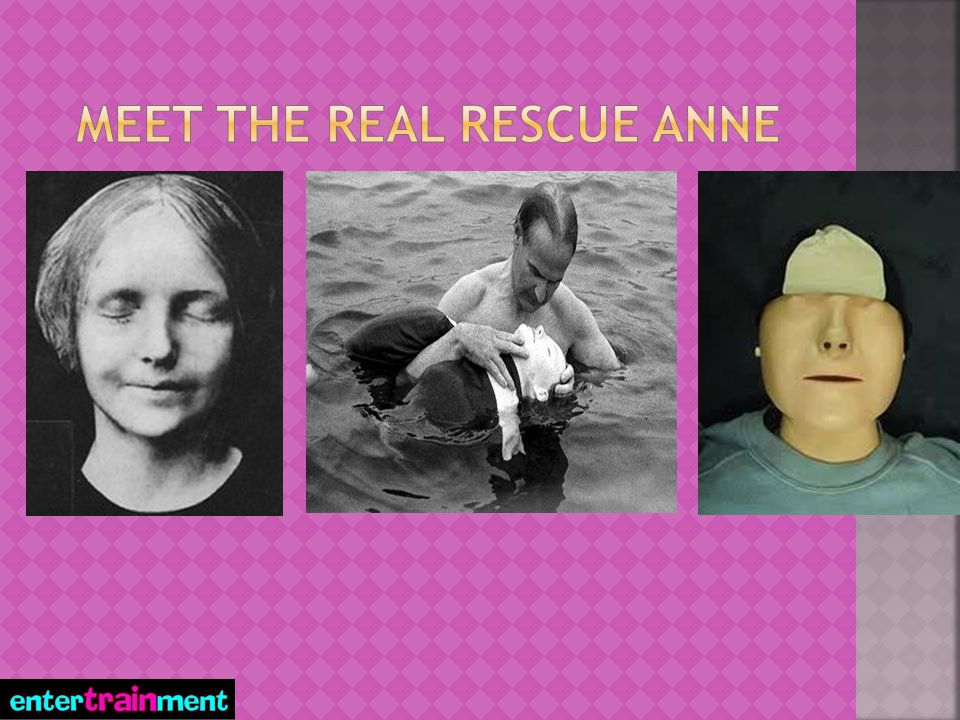 MEET the real RESCUE ANNE