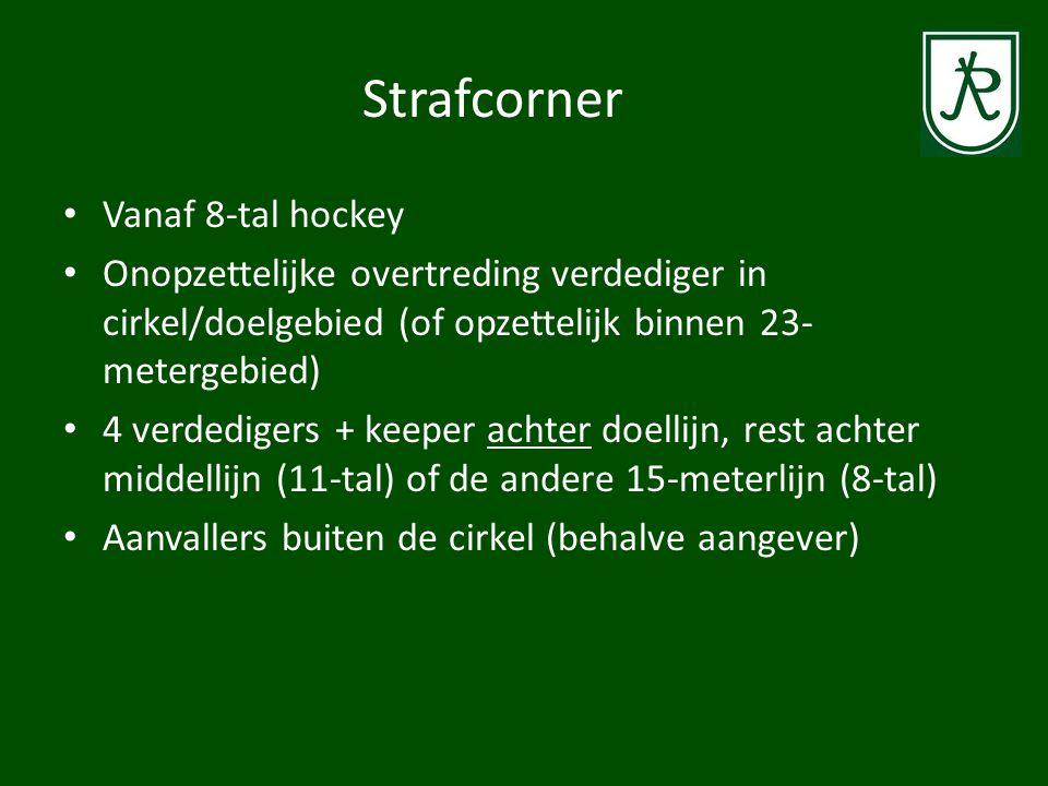 Strafcorner Vanaf 8-tal hockey