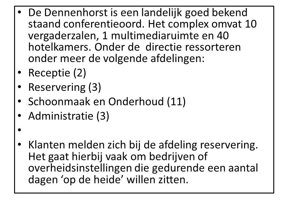 De Dennenhorst is een landelijk goed bekend staand conferentieoord