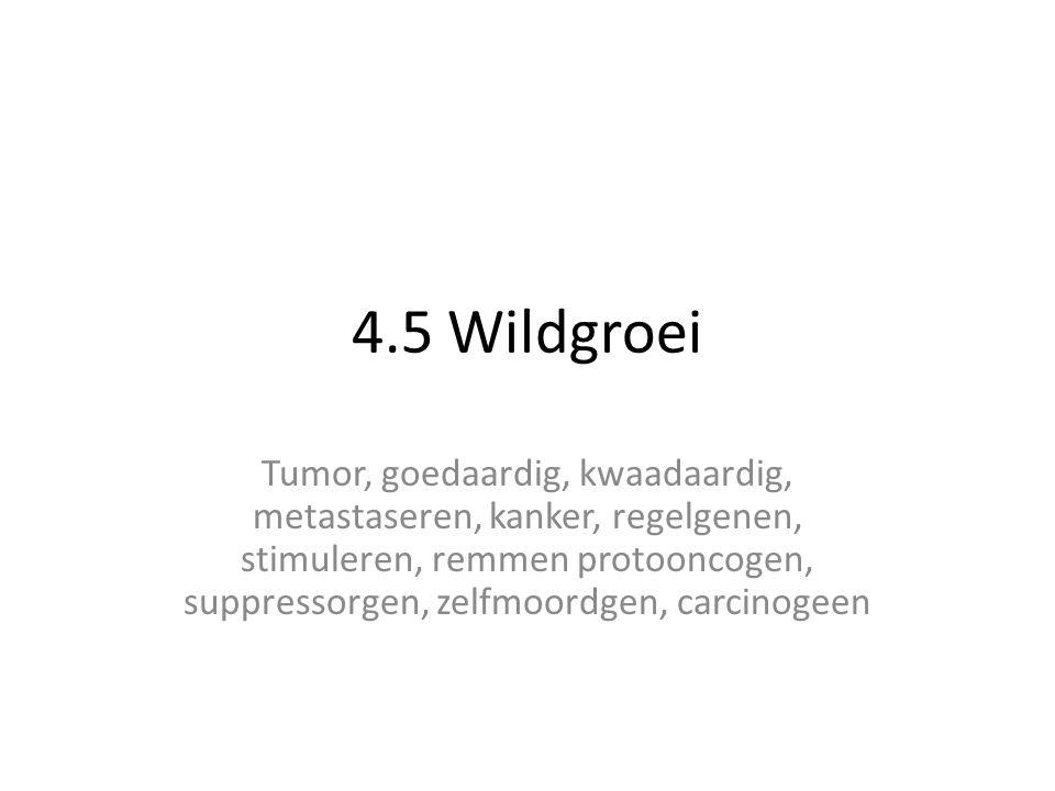 4.5 Wildgroei