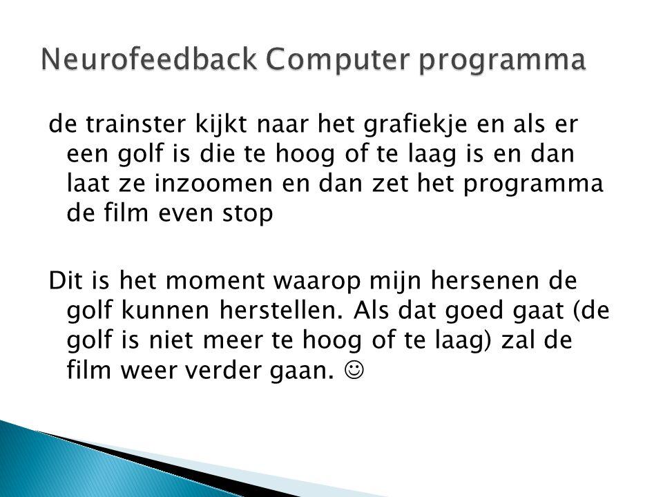 Neurofeedback Computer programma