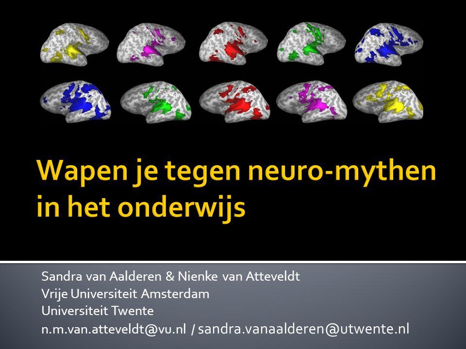 Wapen je tegen neuro-mythen in het onderwijs