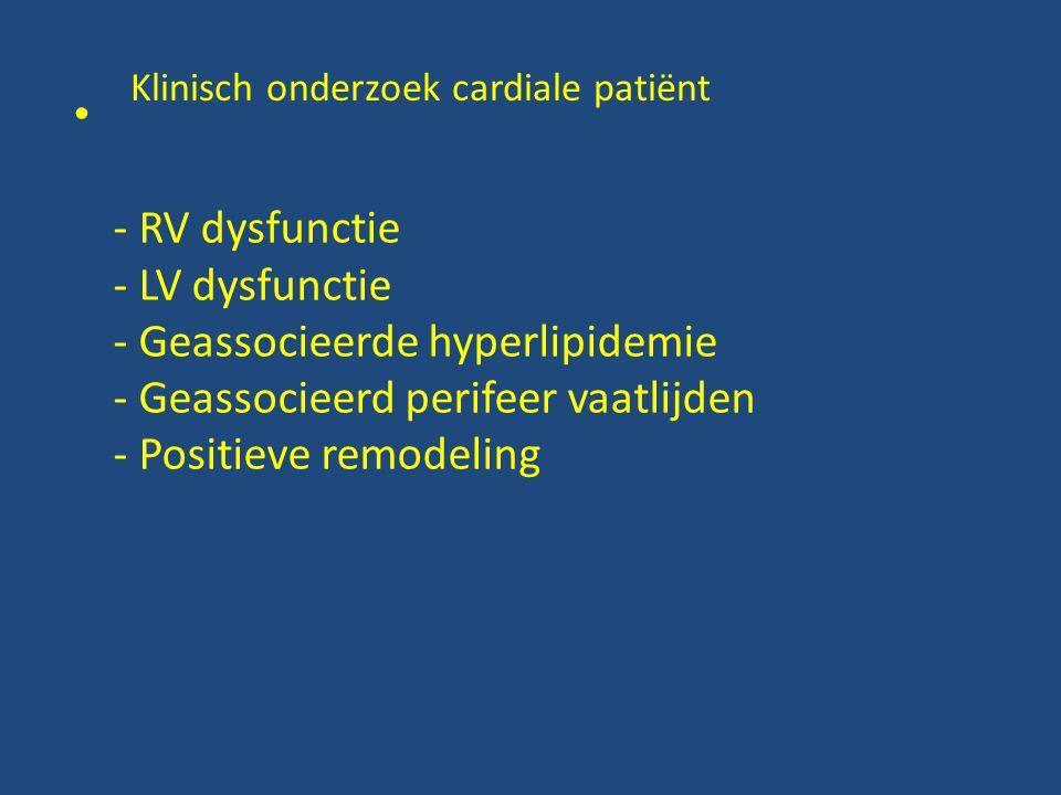 Klinisch onderzoek cardiale patiënt